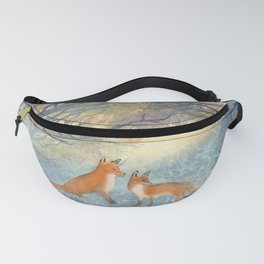 The Two Foxes Fanny Pack