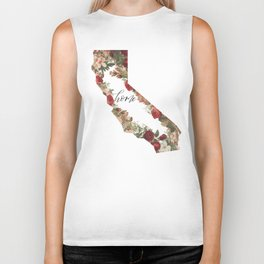 California Floral - Home Biker Tank
