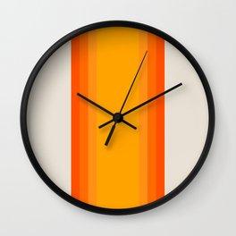 Sunrise Rainbow - Straight Wall Clock
