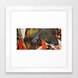 graffuturisim 101 Framed Art Print