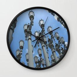 LACMA Lamp Posts 1  Wall Clock
