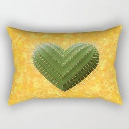 Cactus Heart - Coeur de Cactus Rectangular Pillow