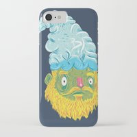 gnome iPhone & iPod Cases featuring Gnome by Bobe Menchaca