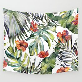 TROPICAL GARDEN 5 Wall Tapestry
