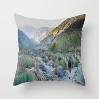 onward Throw Pillows featuring Onward by Kim Ramage