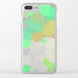 Paint Splatter Clear iPhone Case