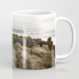 Misty Pancake Rocks Coffee Mug