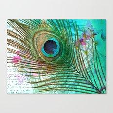 Peacocktail Canvas Print