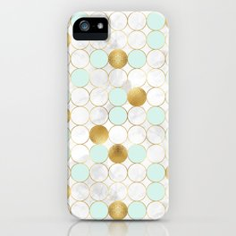 Mint & Gold - daseot iPhone Case