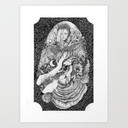 Purgatory Art Print