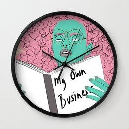 Mindful Business Wall Clock