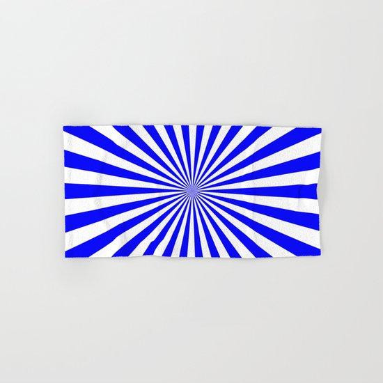 Starburst (Blue/White) Hand & Bath Towel
