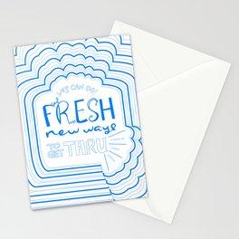 Fresh New Ways – Blueberry Stationery Cards