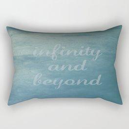 Infinity [With Text] Rectangular Pillow