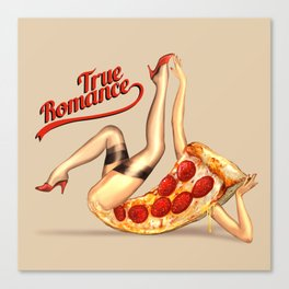 Hot Pizza! Canvas Print