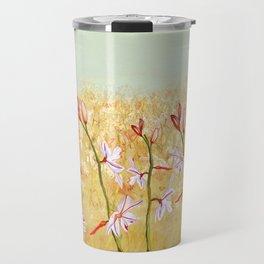 Field Of Lilies Travel Mug