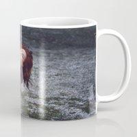 portal Mugs featuring PORTAL by Annamaria Kowalsky