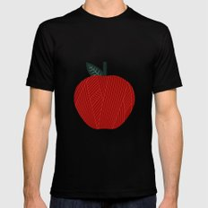 Apple 10 Mens Fitted Tee Black MEDIUM