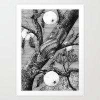 snail Art Prints featuring Snail by ahatom