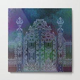Mysterious gate Metal Print