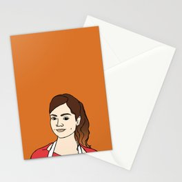 souffle girl Stationery Cards