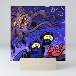 Underwater Adventurers Mini Art Print