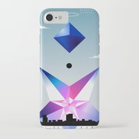 neon genesis evangelion iPhone & iPod Cases featuring Neon Genesis Evangelion - Angel 05: Ramiel by MNM Studios