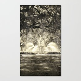 Savannah Flea Market Canvas Print