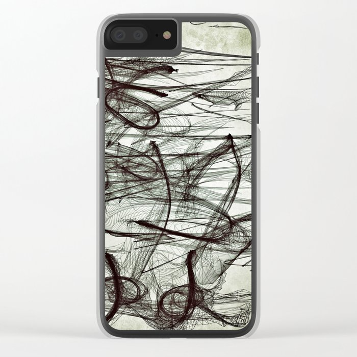Letting Go Clear iPhone Case