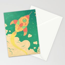 outta this world Stationery Cards