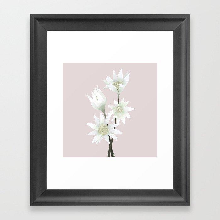 Flannel Flowers Gerahmter Kunstdruck
