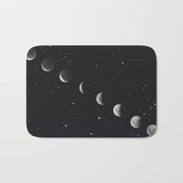 Phases of the Moon Bath Mat