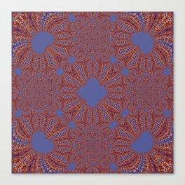 Sequential Baseline Mandala 12p Canvas Print