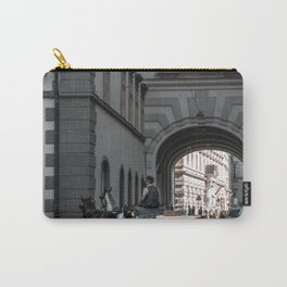 horse by Sergio Rodriguez - Portugues del Olmo Carry-All Pouch