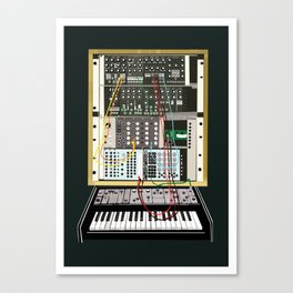 Synth One Canvas Print
