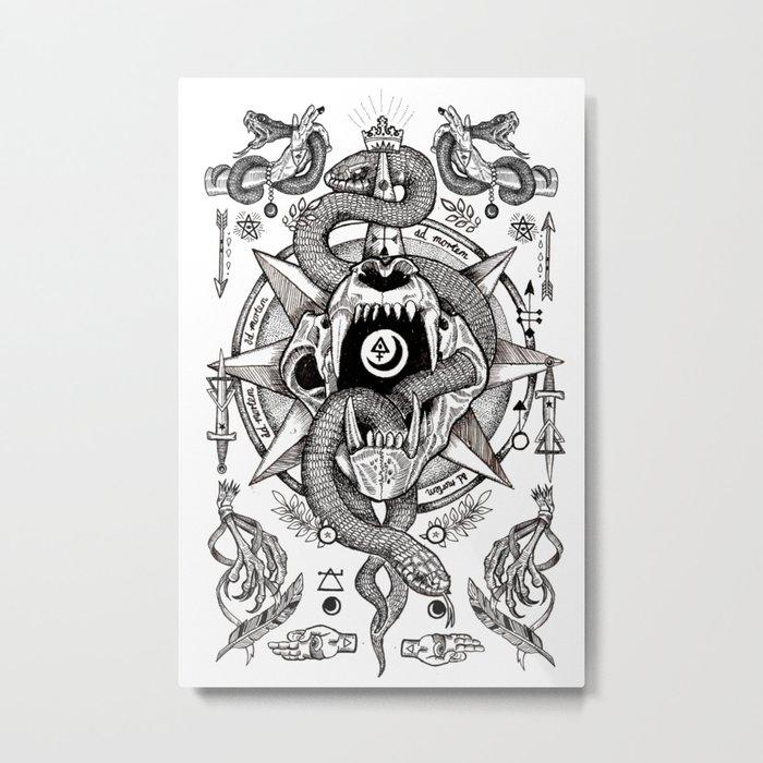 Ad Mortumn Metal Print