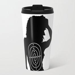 Female Human Shape Target Travel Mug