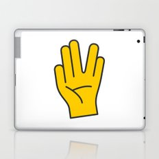 Hand Gesture - Live Long And Prosper Laptop & iPad Skin