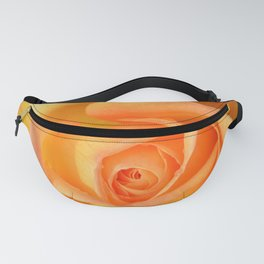 Bright Yellow Rose Fanny Pack