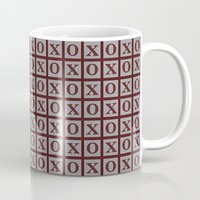 xoxo Mugs featuring XOXO by LLL Creations