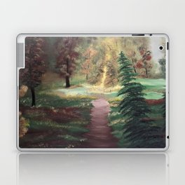Warm Autumn day Laptop & iPad Skin