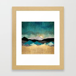 Peacock Vista Framed Art Print