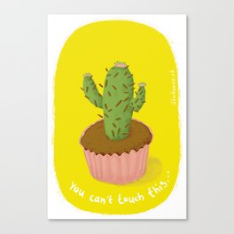 prickly seduction Canvas Print