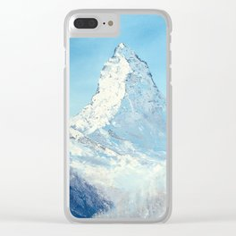 Mattehorn Clear iPhone Case