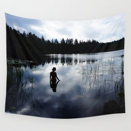 Reflecting Beauty Wall Tapestry
