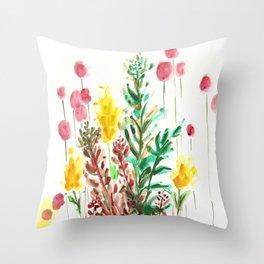 The Garden State Throw Pillow