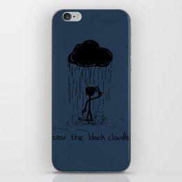 Turn that cloud, upside down! iPhone Skin