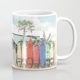 Surfboards Maui Hawaii Coffee Mug