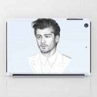zayn iPad Cases featuring Zayn sketch by Coconut Wishes