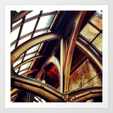 Industrial Architecture Art Print